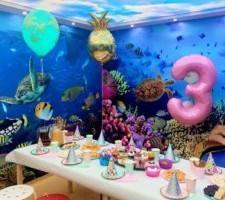 urodzinowy stół dla dzieci