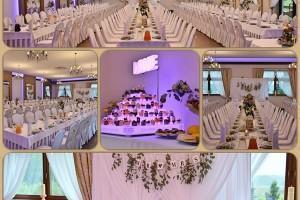 wygląd sali weselnej w środku
