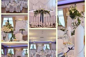 zajawki wyglądu sali weselnej